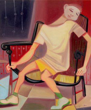 La chaise bancale