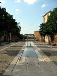 Fontaine à Albi, juillet 2013