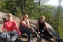 Mes 3 soeurs chéries.Automne 2013, Val-David.