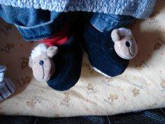 Les pantoufles comptent les moutons