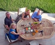 Chez Sandrine et Fred 20 juillet 2013 Alleins