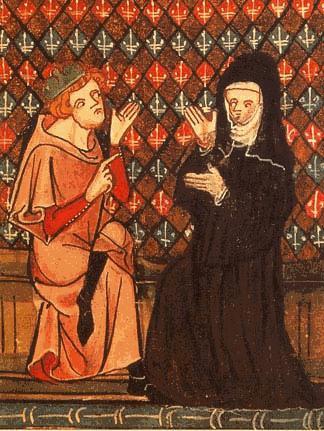 Sous licence Public domain via Wikimedia Commons - http://commons.wikimedia.org/wiki/File:Abelard_and_Heloise.jpeg#mediaviewer/File:Abelard_and_Heloise.jpeg