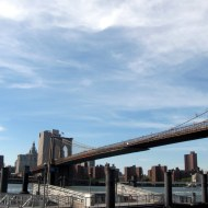 Le Pont de Brooklyn, mai 2014.