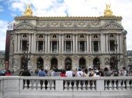Opéra Garnier, Paris, août 2010.
