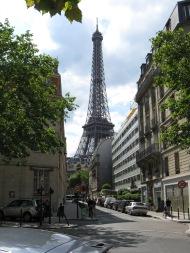 La Tour Eiffel, Paris, août 2010.