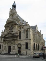 Place Sainte-Geneviève, Paris, août 2010.